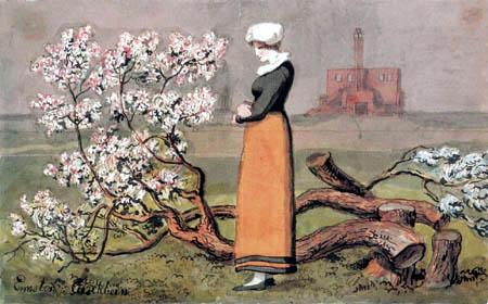 J. Heinrich Wilhelm Tischbein - Das Blütenwunder