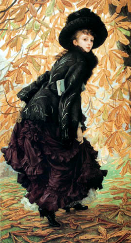 James (Jacques-Joseph) Tissot - Young Woman