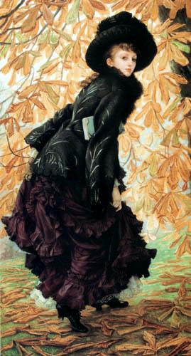 James (Jacques-Joseph) Tissot - Young Woman