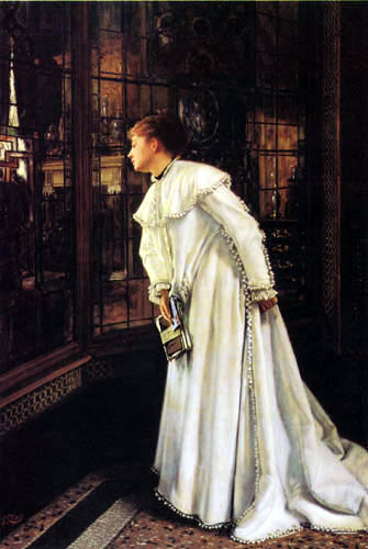 James (Jacques-Joseph) Tissot - Look out of the window