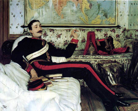 James (Jacques-Joseph) Tissot - Colonel Frederick Burnaby