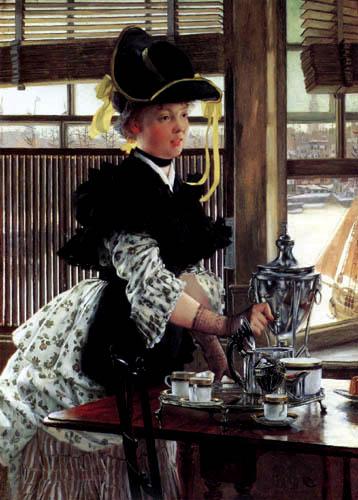 James (Jacques-Joseph) Tissot - The Tea