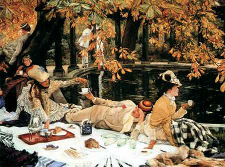 James (Jacques-Joseph) Tissot - The Picnic