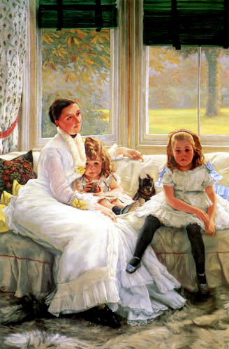 James (Jacques-Joseph) Tissot - Family Chapple-Gill