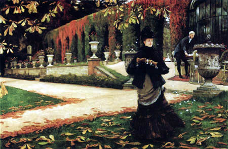 James (Jacques-Joseph) Tissot - The Letter