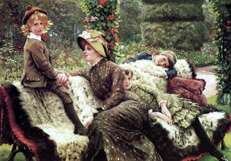 James (Jacques-Joseph) Tissot - Garden bench