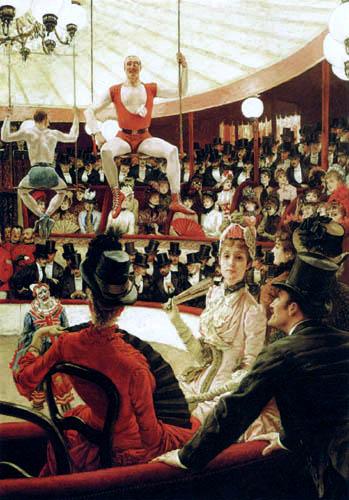 James (Jacques-Joseph) Tissot - Im Zirkus