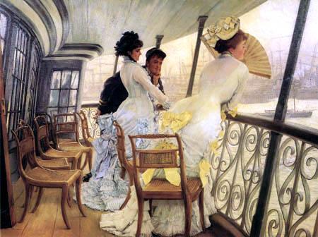 James (Jacques-Joseph) Tissot - The Gallery of 'HMS Calcutta'