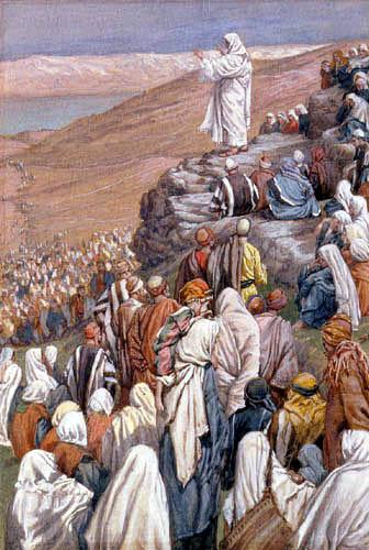 James (Jacques-Joseph) Tissot - Sermon on the Mount
