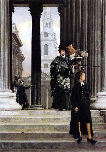 James (Jacques-Joseph) Tissot - London Visitors
