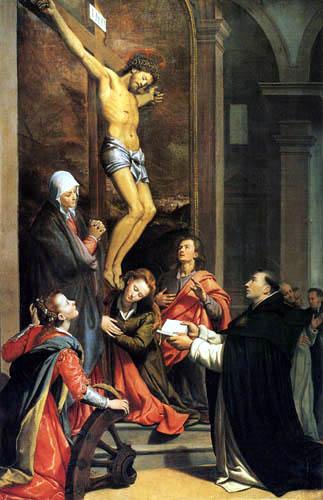 Santi di Tito - The vision of St. Thomas Aquinas