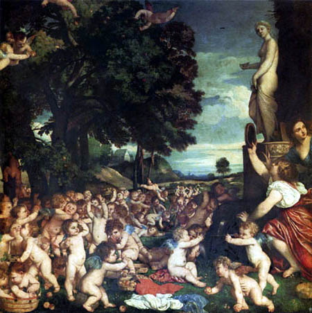 Tizian (Tiziano Vecellio) - Das Venusfest