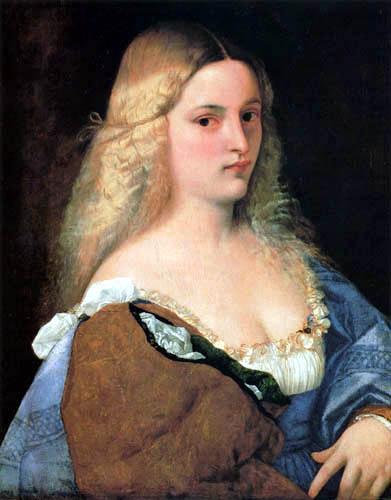 Tizian (Tiziano Vecellio) - Violante