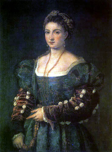 Tizian (Tiziano Vecellio) - La Bella