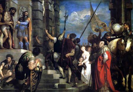 Tizian (Tiziano Vecellio) - Ecce homo