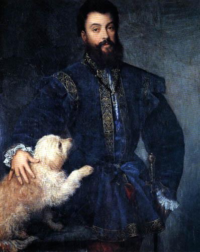 Tizian (Tiziano Vecellio) - Federigo II. Gonzaga, Herzog von Mantua