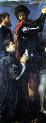 Tizian (Tiziano Vecellio) - Polyptychon Averoldi, Hll. Nazaro und Celso