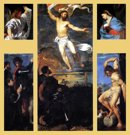Tizian (Tiziano Vecellio) - Polyptychon Averoldi