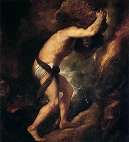 Tizian (Tiziano Vecellio) - Sisyphos