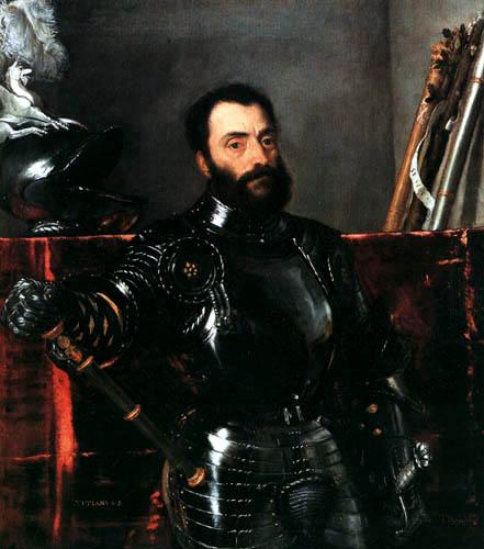 Tizian (Tiziano Vecellio) - Francesco Maria Della Rovere, Herzog von Urbino