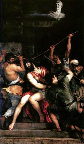 Tizian (Tiziano Vecellio) - Die Dornenkrönung