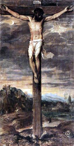 Tizian (Tiziano Vecellio) - Kreuzigung