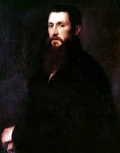 Tizian (Tiziano Vecellio) - Bildnis der Adelaida