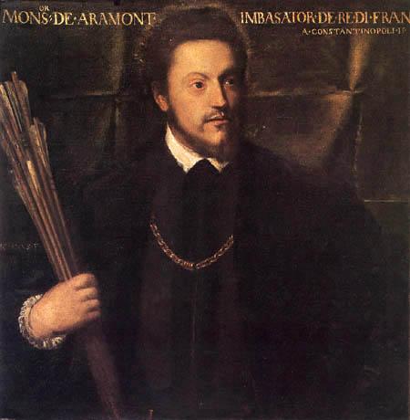 Tizian (Tiziano Vecellio) - Monseigneur d´Aramont