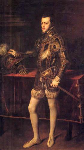 Tizian (Tiziano Vecellio) - Philipp II. als Kronprinz