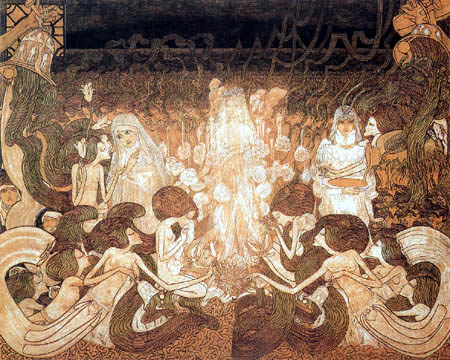 Jan (Johannes Theodor) Toorop - The three brides