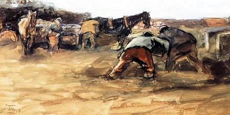 Jan (Johannes Theodor) Toorop - Sand diggers
