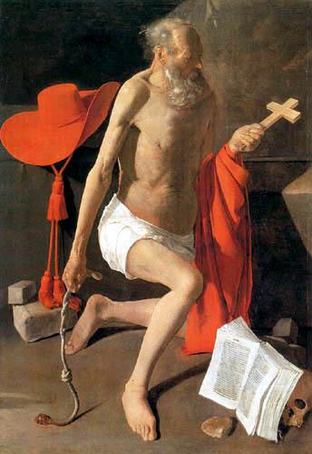 Georges de la Tour - The Penitent St. Hieronymus