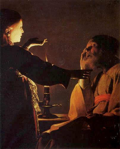 Georges de la Tour - An angel appears to Saint Joseph