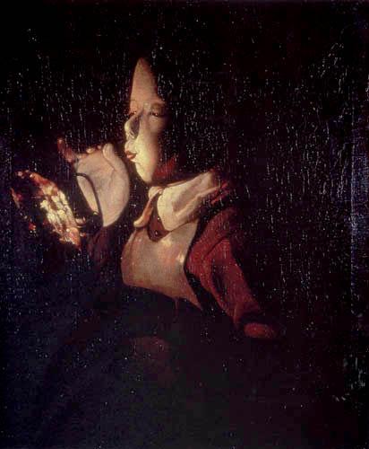 Georges de la Tour - The Boy with the Lamp