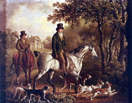 Charles Towne - A Hunting Party