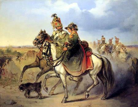 Friedrich Treml - The gallant Hussar