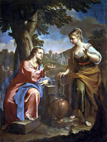 Francesco Trevisani - Christ and the Samaritan at the well