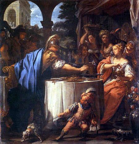 Francesco Trevisani - Banquet of Anthony and Cleopatra