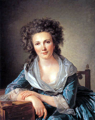 Louis-Roland Trinquesse - Portait of a woman