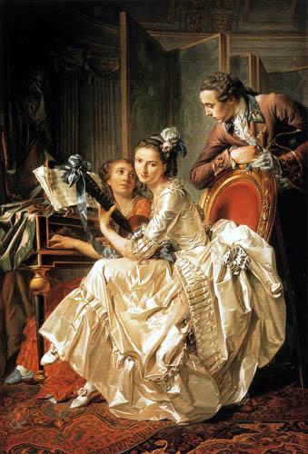 Louis-Roland Trinquesse - Musical amusement