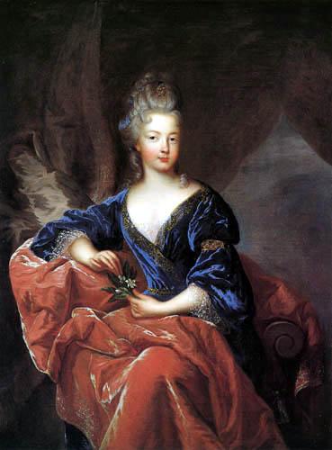 François de Troy - Portrait Françoise Marie de Bourbon