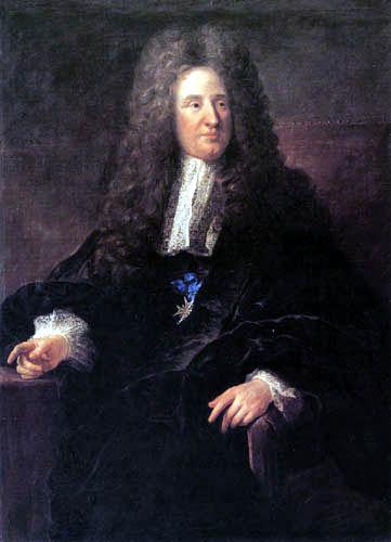 François de Troy - Portrait of Jules Hardouin-Mansart