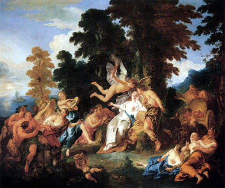 Jean-François de Troy - Bacchus und Ariadne