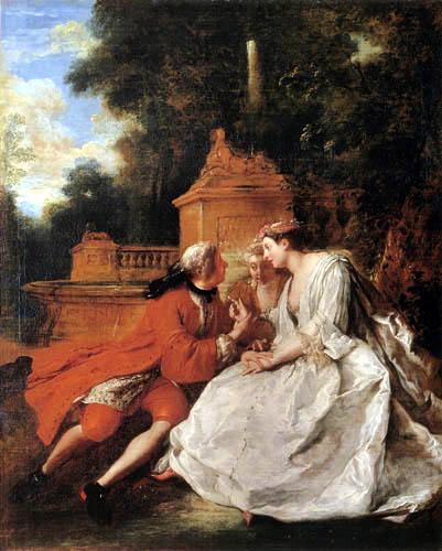 Jean-François de Troy - The Play Pied-de-Bœuf