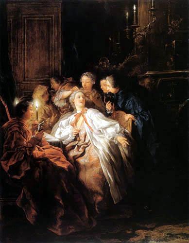 Jean-François de Troy - Die Balltoilette