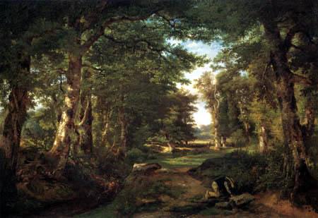 Constant Troyon - Forest way, Sèvres