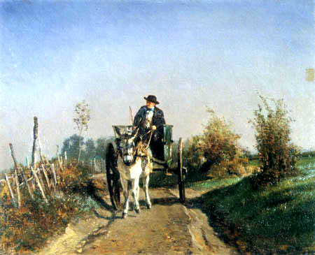 Constant Troyon - Peasant working