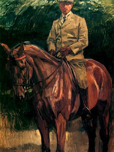 Wilhelm Trübner - Reiterbildnis