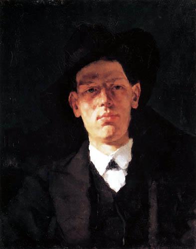 Wilhelm Trübner - Portrait of Gustav Mohr