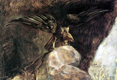 Wilhelm Trübner - Eagle